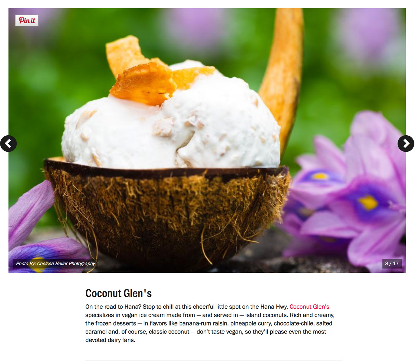 "Screenshot from Food Network's Guide to:<br><a href=""https://www.foodnetwork.com/restaurants/photos/restaurant-guide-maui"" target=""_blank"" rel=""noopener noreferrer"">""The Best Restaurants on Maui""</a> - Coconut Glens.</br>"
